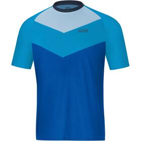 GORE WEAR C5 Trail Fietsshirt korte mouwen Heren blauw